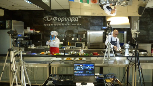 Двухкамерная  видеозапись кулинарного мастер-класса  | VasheVideo Backstage