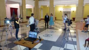 Онлайн трансляция свадьбы зал церемони Октябрьский дворец Киев